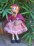 Doll Weinig Rode Berijdende Kap Stock Foto