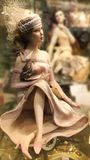 Doll in the window Royalty Free Stock Photography
