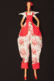 Doll with wings. The photo shows the doll with wings Royalty Free Stock Photo