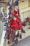Doll-witch at the fair Stock Image