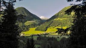 Dollach - villaggio vicino a Heiligenblut in Austria Fotografie Stock Libere da Diritti