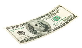 dollar 100 Royalty-vrije Stock Fotografie