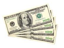 Dollar 100 Royalty-vrije Stock Foto