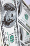 Dollar 100 Banknotefrontseite Stockfoto