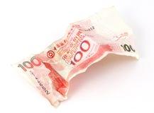 Dollar 100 van Hongkong Nota Royalty-vrije Stock Afbeeldingen