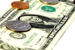 Dollar dollar, dollar! Arkivfoto
