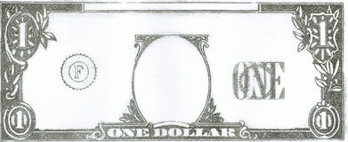 Dollar. My pay for the week Stock Photo