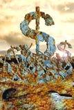 Dollar 2 van de apocalyps Stock Afbeelding