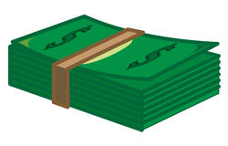 Dollar. A bundle of cash dollars that are very much Stock Images
