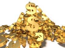 Dollar Royalty-vrije Stock Fotografie