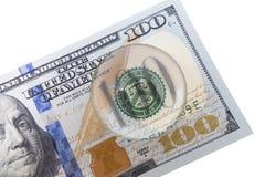 100 Dollar Stockfoto