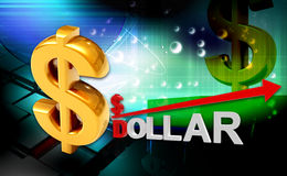 Dollar vector illustratie
