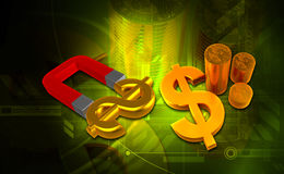 Dollar stock illustratie