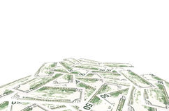 dollar 50 Royalty-vrije Stock Afbeelding