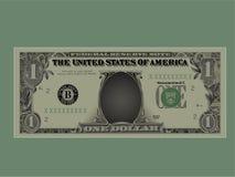 Dollar illustration de vecteur