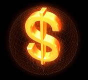 Dollar illustration stock
