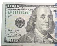 100 dollar Royaltyfri Foto