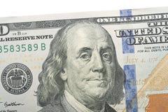 100 Dollar Lizenzfreie Stockfotos