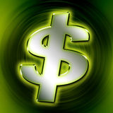 Dollar. Sign Royalty Free Stock Images