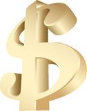 Dollar stock illustratie