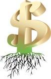 Dollar royalty-vrije illustratie
