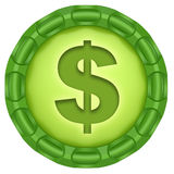 Dollar. Royalty Free Stock Images