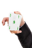 Dollar ace Stock Image