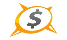 Dollar Advisory Logo Design Template. Vector Royalty Free Stock Photo