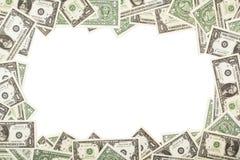 Dollar als Hintergrund Stockfotos