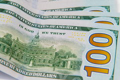 Dollar américain Photo stock