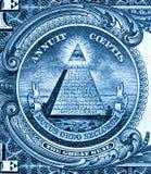 dollar américain de plan rapproché Photos libres de droits