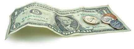 dollar anger enigt oss Fotografering för Bildbyråer