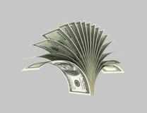 Dollar, Anlagen, Sträuche, Origami 2 stock abbildung