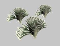 Dollar, Anlagen, Sträuche, Origami 3 lizenzfreie abbildung