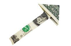 Dollar arrow Royalty Free Stock Photos