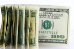 Dollar background Stock Image