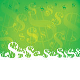 Dollar Background Stock Photography