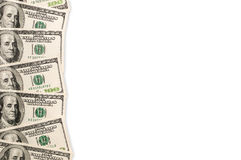 Dollar background. Royalty Free Stock Photography