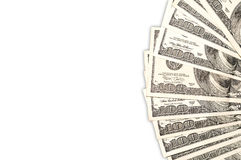 Dollar background. Royalty Free Stock Photos
