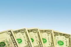 Dollar background Stock Images