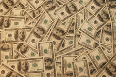 Dollar background Royalty Free Stock Image