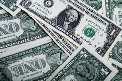 Dollar backgrounds Royalty Free Stock Images