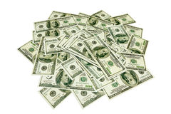 Dollar backgrounds Royalty Free Stock Photos