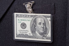 Dollar badge Royalty Free Stock Image