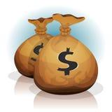 Dollar Bags Royalty Free Stock Photo