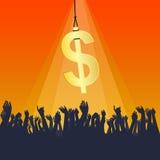 Dollar Bait Stock Images