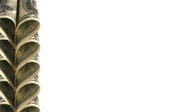 Dollar bakgrund Royaltyfria Bilder