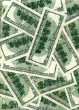 Dollar bakgrund Royaltyfri Fotografi