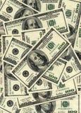 Dollar bakgrund Royaltyfria Foton