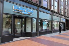 Dollar Bank in Cleveland Stock Photo